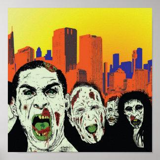 Os zombis inoperantes vivos pôster