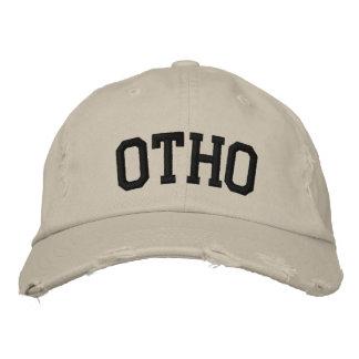 Otho bordou o chapéu
