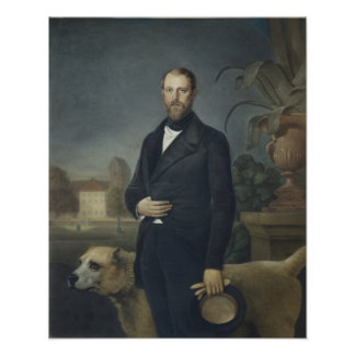 Otto von Bismarck, c.1850 Poster