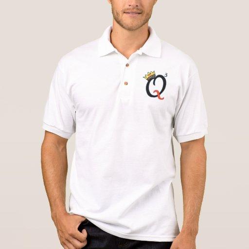 Oui, três produções do Queens Camiseta Polo