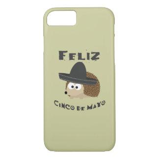 Ouriço de Feliz Cinco De Mayo Capa iPhone 7
