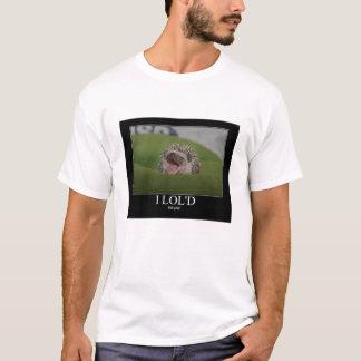 Ouriço engraçado camiseta