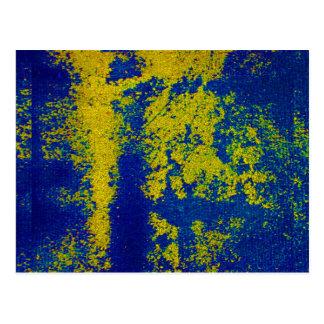 Ouro azul cartão postal