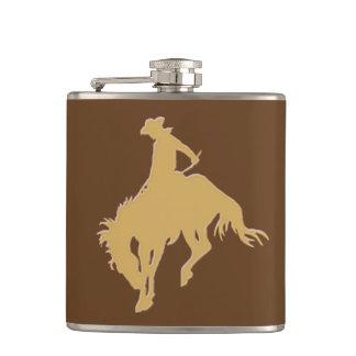 Ouro Bucking do cavalo de Wyoming