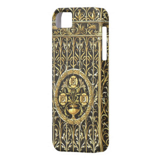 Ouro, caso real do iPhone 5/5S Capas Para iPhone 5