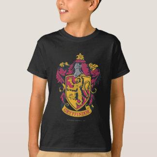 Ouro e vermelho da crista de Gryffindor T-shirts