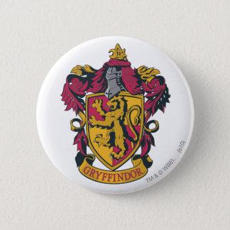 Ouro e vermelho da crista de Harry Potter | Bóton Redondo 5.08cm