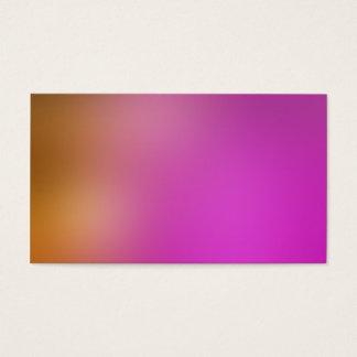 Ouro macio e pintura clara cor-de-rosa cartão de visitas