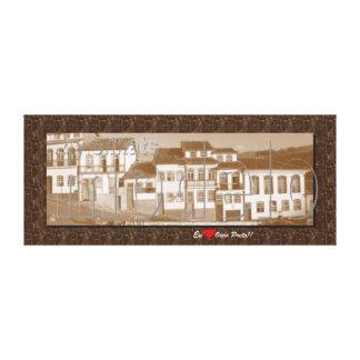 Ouro Preto MG Impressão Em Tela