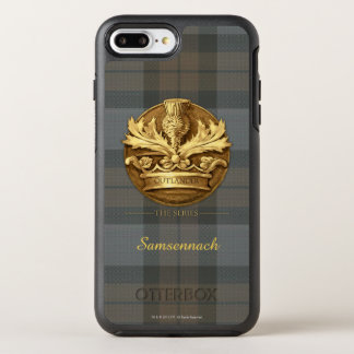 Outlander | o cardo do emblema de Scotland Capa Para iPhone 7 Plus OtterBox Symmetry