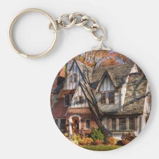Outono - casa do gnomo chaveiro