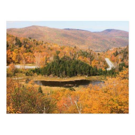 Outono de Gap do Appalachian Cartoes Postais