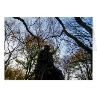 Outono no Central Park Cartão Comemorativo