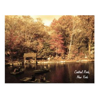 Outono no Central Park Cartão Postal