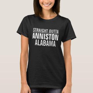 Outta reto Anniston Alabama Camiseta