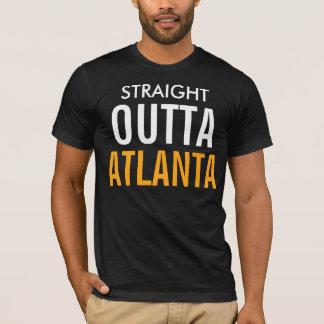 Outta reto Atlanta Camiseta