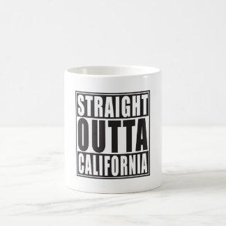Outta reto Califórnia Caneca De Café