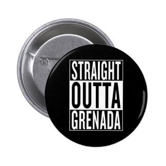 outta reto Grenada Bóton Redondo 5.08cm