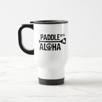 Pá com Aloha a caneca da patrulha do alvorecer de