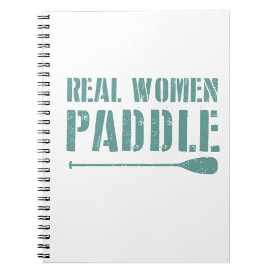 Pá das mulheres reais cadernos espiral