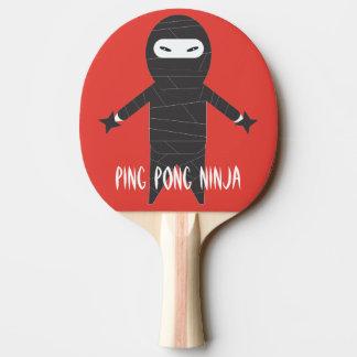 Pá de Pong do sibilo de Ninja Raquete Para Pingpong
