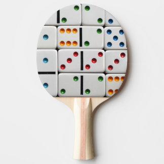 Pá do pong do sibilo dos dominós raquete para pingpong
