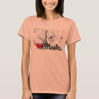 Pacientemente esperando (pitbulls do coração) t-shirts