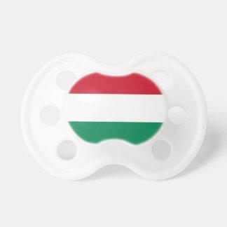 Pacifier com a bandeira de Hungria Chupeta