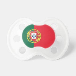 Pacifier com a bandeira de Portugal Chupeta