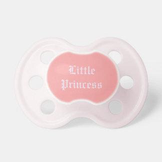 """Pacifier da princesa pequena"" bebê Chupeta"