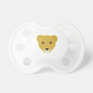 Pacifier de Cub de leão Chupeta