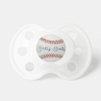 Pacifier do basebol do envoltório de Mickey Chupeta