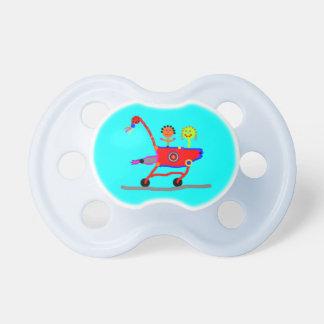 pacifier do carrinho de criança de bebê do partyti chupeta