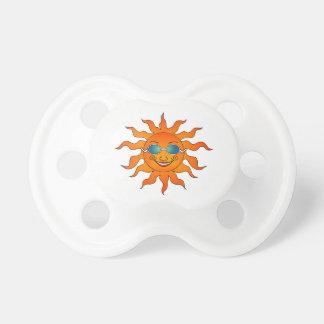 Pacifier ensolarado da luz do sol chupeta para bebê