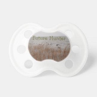 Pacifier futuro do caçador chupeta de bebê