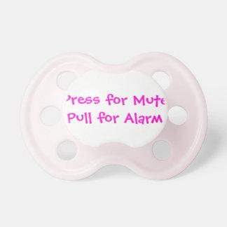 Pacifier que você pode personalizar e personalizar chupeta de bebê