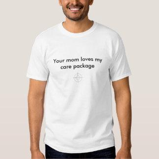 pacote de cuidado camisetas