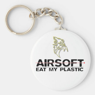 Pacote de lobo Airsoft porta-chaves Chaveiro