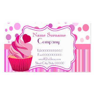 padaria doce, cupcakes, loja doce, loja de cartão de visita