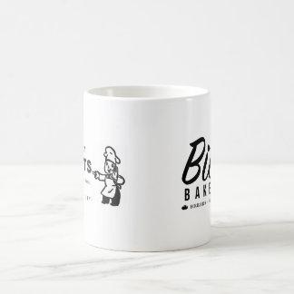 """Padaria """"tentativa de Bittle nossas rosquinhas"""" Caneca De Café"""