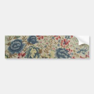 padrão de flores adesivos