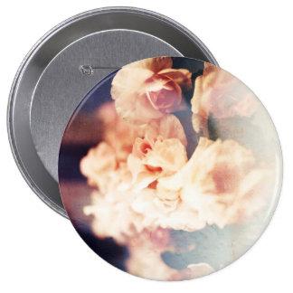 Padrão do fluxo de Maria, botão redondo da Bóton Redondo 10.16cm