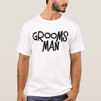 Padrinho de casamento do hipster t-shirts