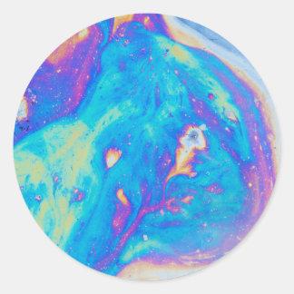 Padrões coloridos do óleo, Canadá Adesivo