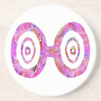 Padrões dos óculos de sol n RedRose PinkRose Porta Copos De Arenito