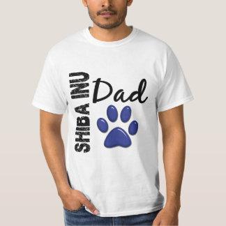 Pai 2 de Shiba Inu Camisetas