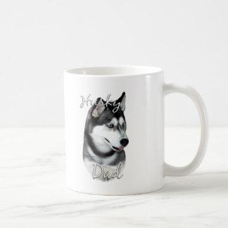 Pai 2 do rouco Siberian (preto) Caneca De Café