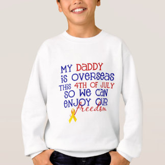 Pai 4o julho t-shirt