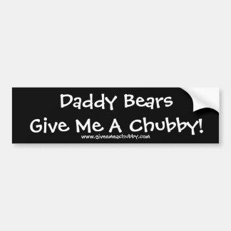 Pai BearsGive mim um carnudo! Adesivo Para Carro