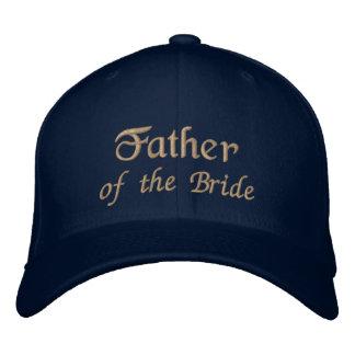 Pai da noiva boné bordado